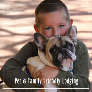 pet & family friendly lodging
